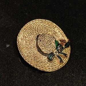 MFA golden hat pin signed